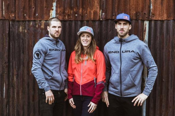 Dan, Rachel and Gee Atherton