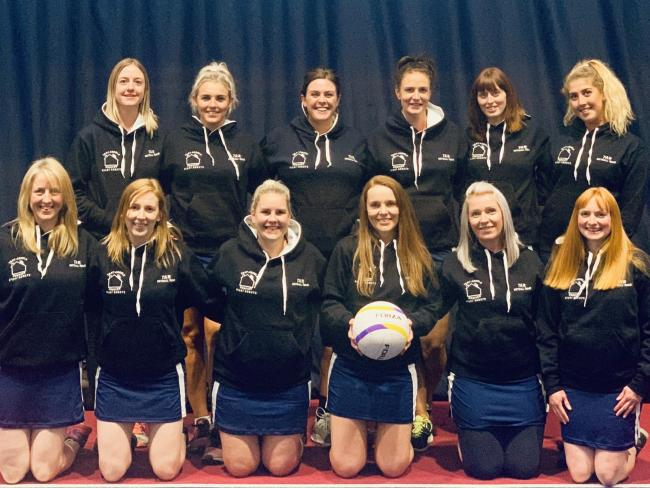 Left to rightBack row – Katie Williams, Chloe Edwards, Laura Rowbotham, Becci Dyke, Mel Arnold, Lucy EdwardsFront row – Hayley Pugh, Rachel Burke, Kelly Ellis, Cherly Morris, Lynsey Kilvert, Amy Snow