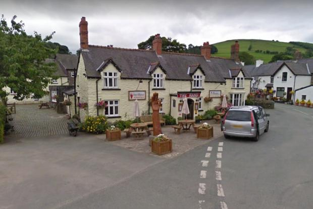 The Hand at Llanarmon. Picture by Google Maps