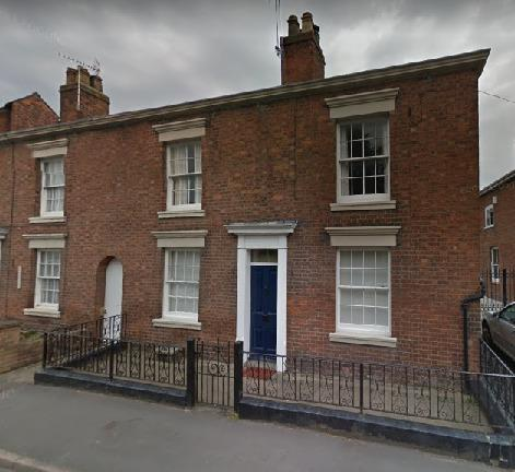 Number 4 Willow Street which is currently a residential property. Picture from Google Maps.