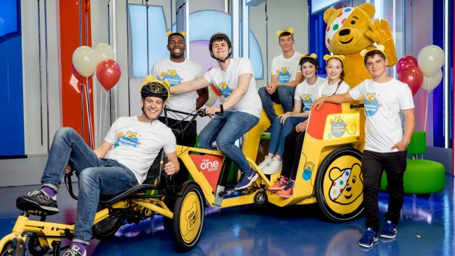 The 'Rickshaw Challenge' will be coming through to Oswestry