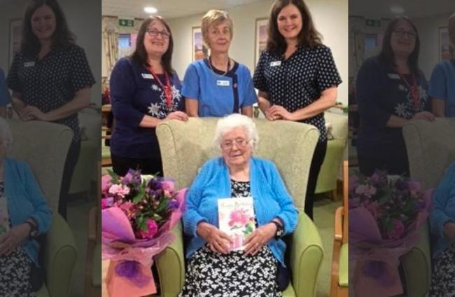 Rita Evans, known to her family and friends as 'Nanny Evans', passed away on June 7 at Chirk Court Residential Home after a life spanning a century.
