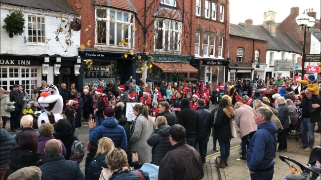 The Oswestry Christmas Parade