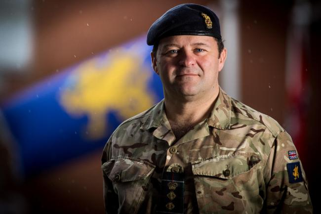 Commander Army South West, Colonel Andrew Dawes. Picture by Corporal Ben Beckett Royal Logistic Corps/MoD Crown Copyright
