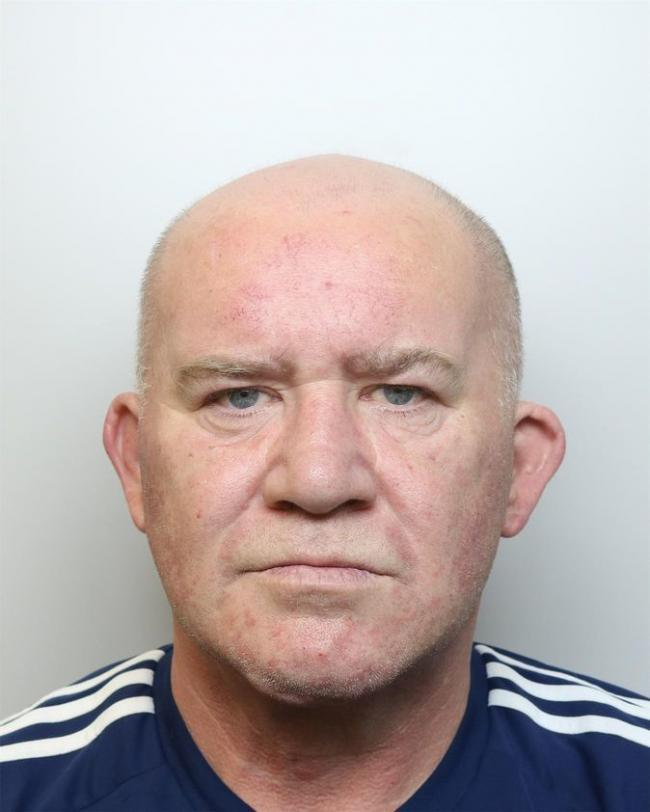Roger Collins who attacked and imprisoned his girlfriend in her home for several hours.