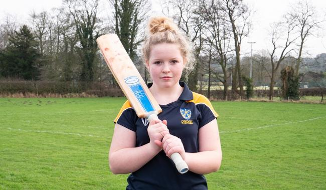 Olivia selected for prestigious cricket programme