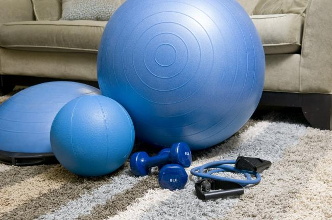 Home fitness equipment. Picture: Pixabay