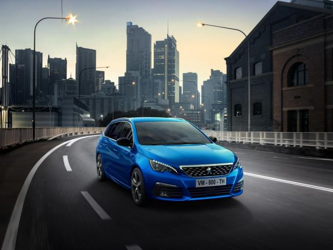 The new Peugeot 308.