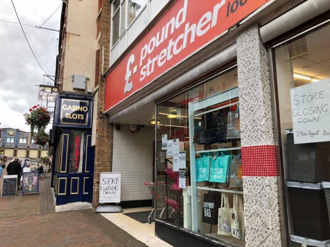 The Oswestry Poundstretcher store
