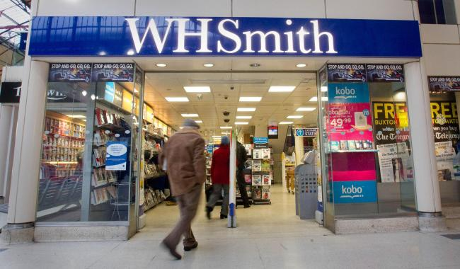 File photo dated 23/01/13 of a general view of a branch of WH Smith in London as the retailer said it could axe up to 1,500 jobs after the pandemic pushed down the number of customers going into its stores. PA Photo. Issue date: Wednesday August 5, 2020.