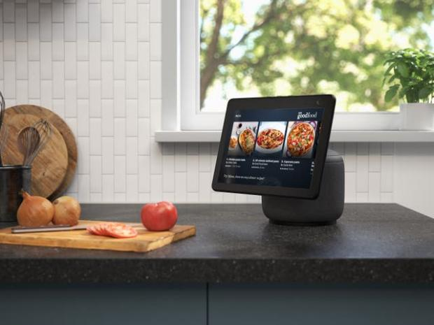 Border Counties Advertizer: The new Echo Show screen can swivel to follow the user. Picture: Amazon