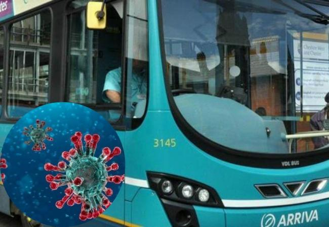 Arriva has issued an emergency bus timetable for services operating in and out of Wrexham after 28 of its Wrexham drivers tested Covid positive.