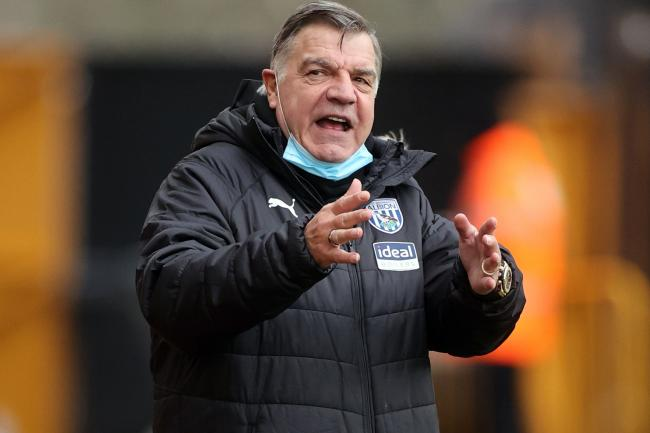 West Brom boss Sam Allardyce is relishing tackling former club West Ham