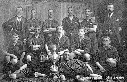 Newtown Football Club in 1895.