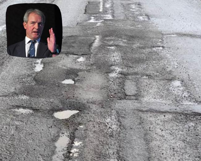 Owen Paterson MP has welcomed funding for potholes.