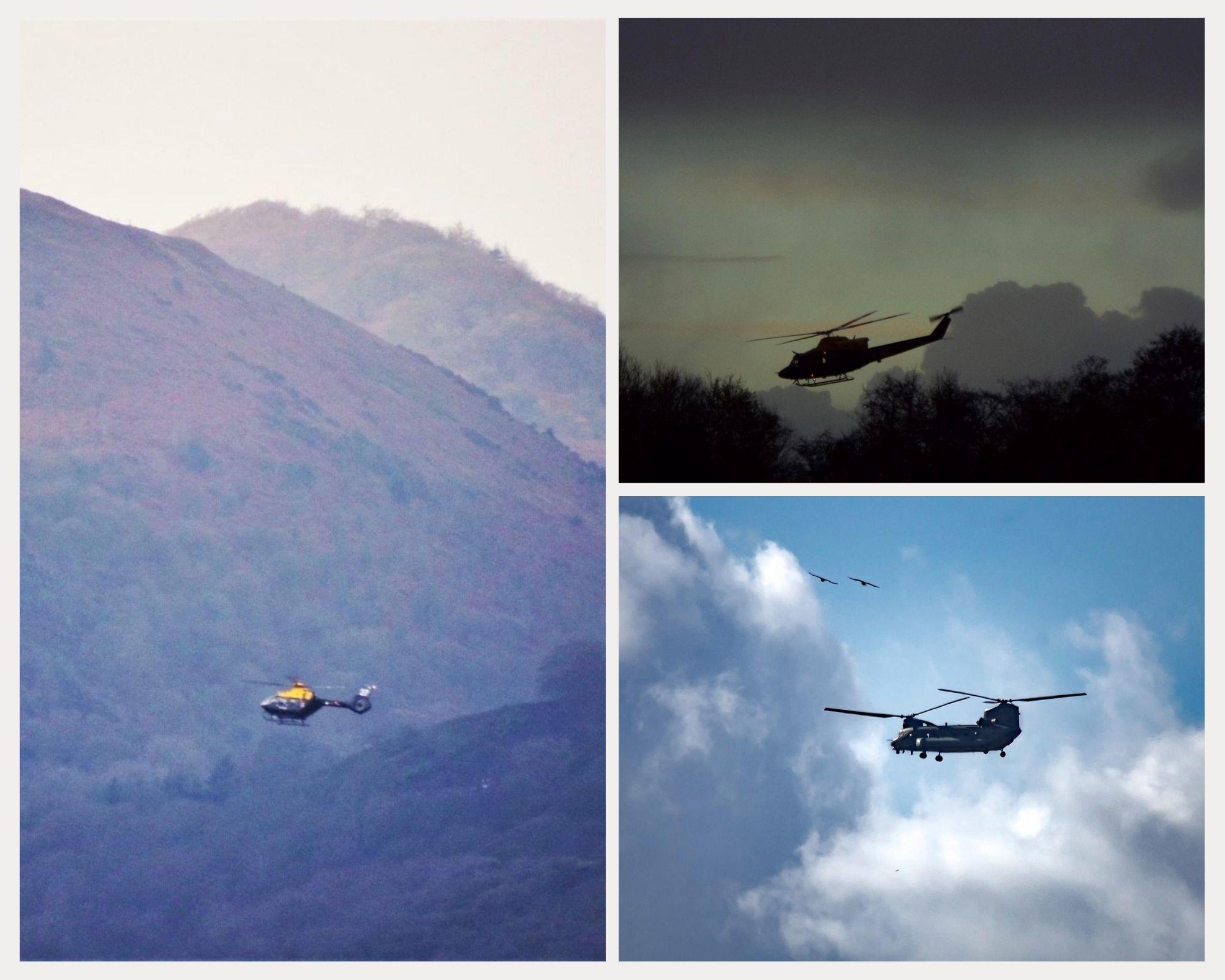Εδώ είναι τα ελικόπτερα που εντοπίστηκαν στο Oswestry πρόσφατα