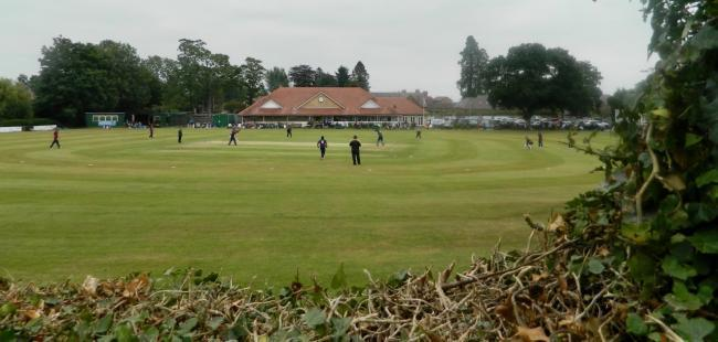Shropshire County Cricket Club playing at Oswestry Cricket Club