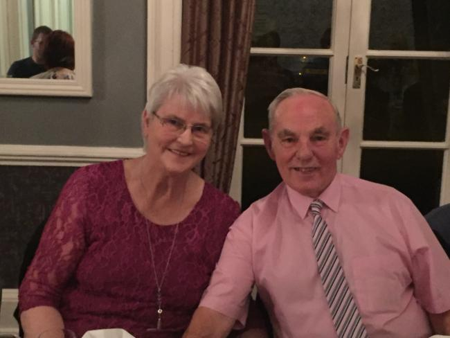 Sue and Fred Hunt are celebrating 60 years of marriage.