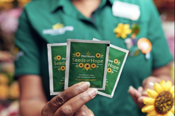 Border Counties Advertizer: Morrisons is giving away 25 million sunflower seeds to customers this week. (Morrisons)