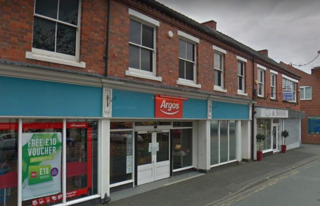 Argos in Oswestry. Picture by Google Maps