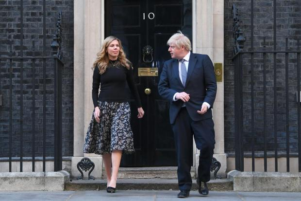 Border Counties Advertizer: The Prime Minister and his fiancee Carrie Symonds have faced questions over the funding of their renovations to the 11 Downing Street flat (Victoria Jones/PA)