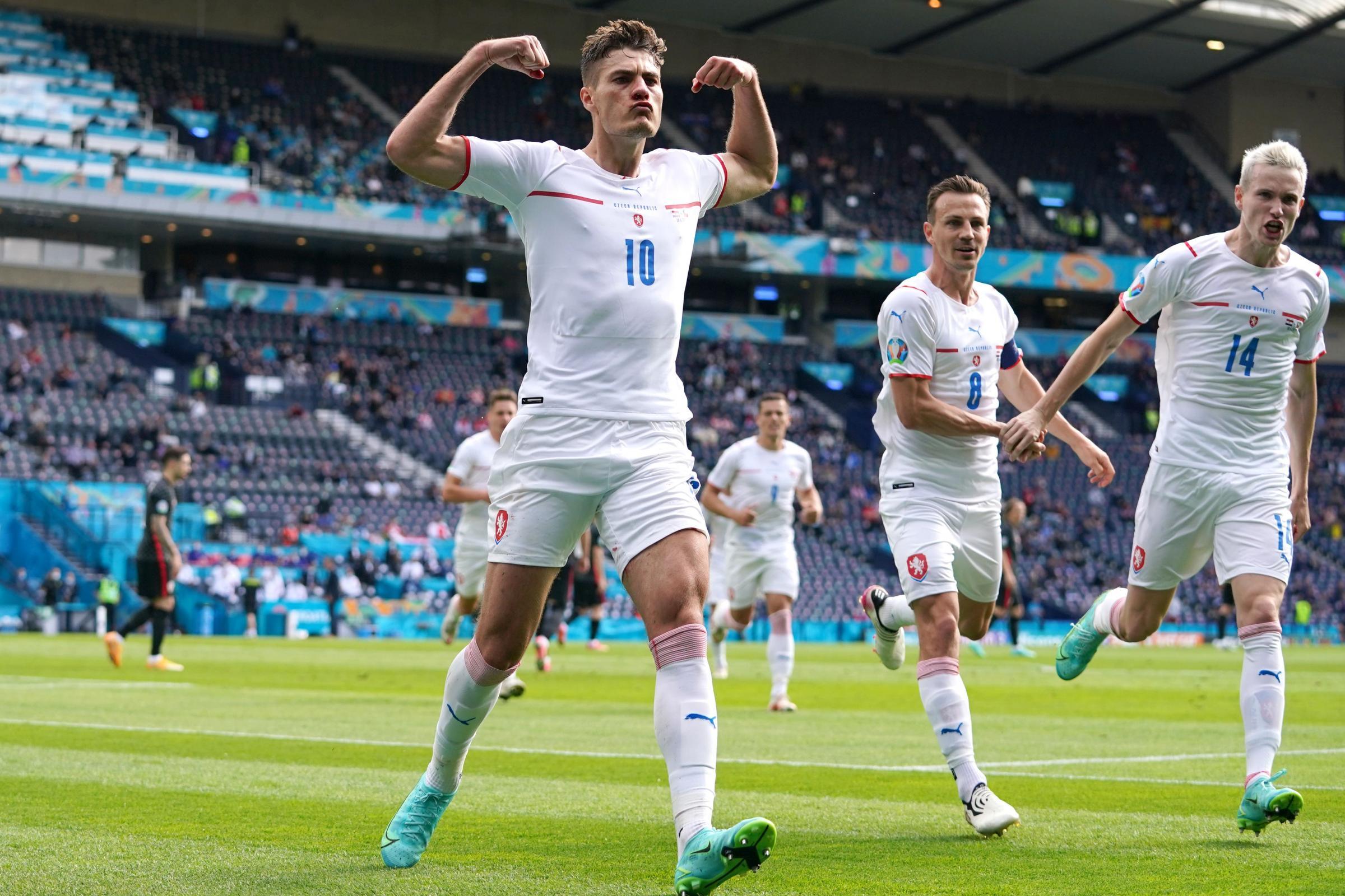 Patrik Schick na Euro 2020