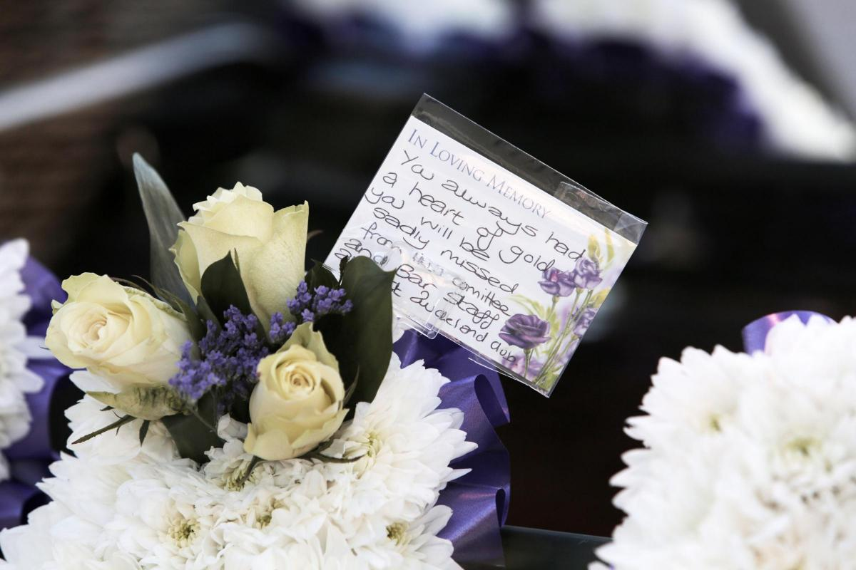 We Will Be Together Always Husband Pays Tribute At Funeral Of
