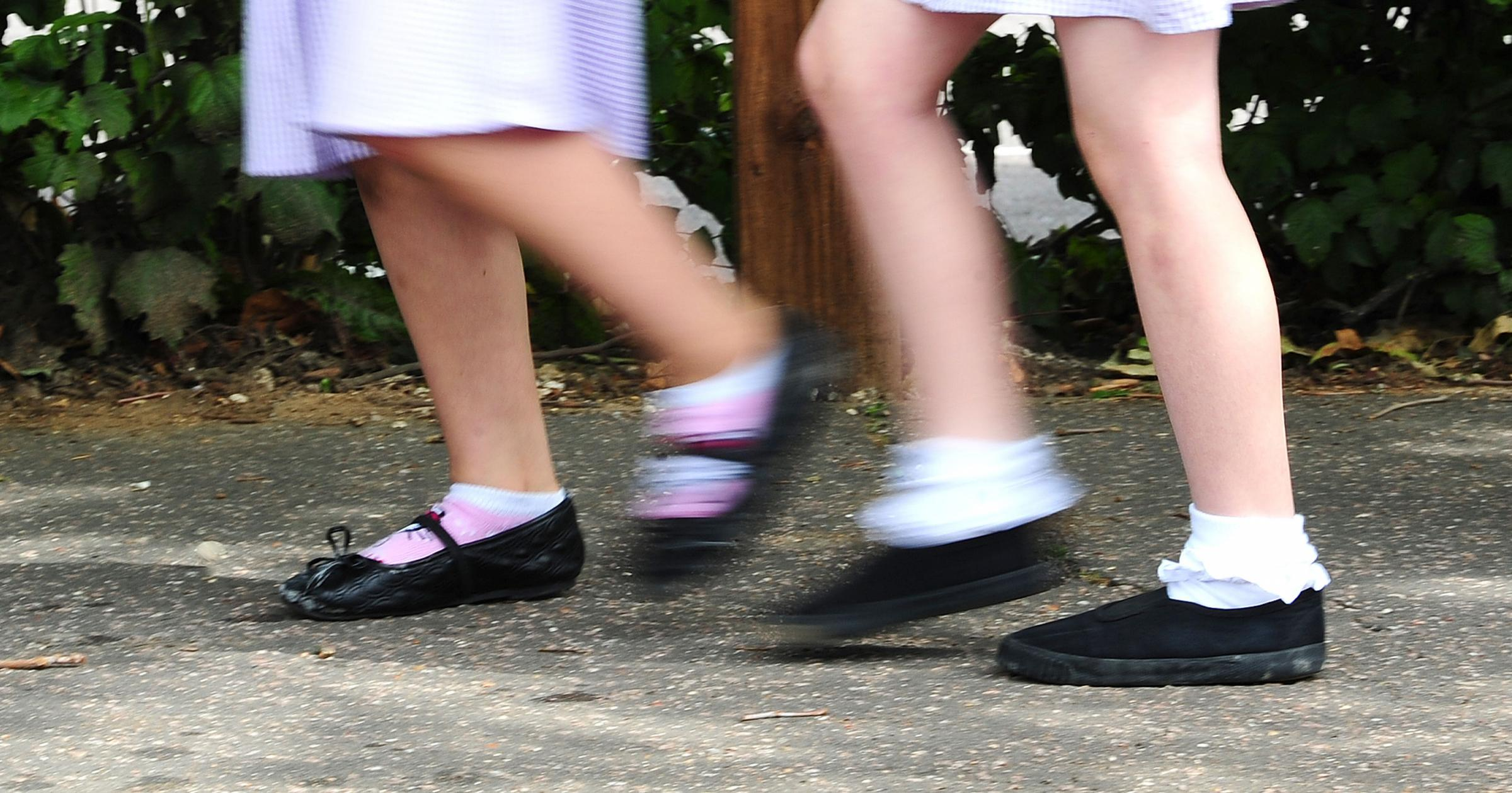 Schoolchildren will be encouraged to walk 'daily miles'