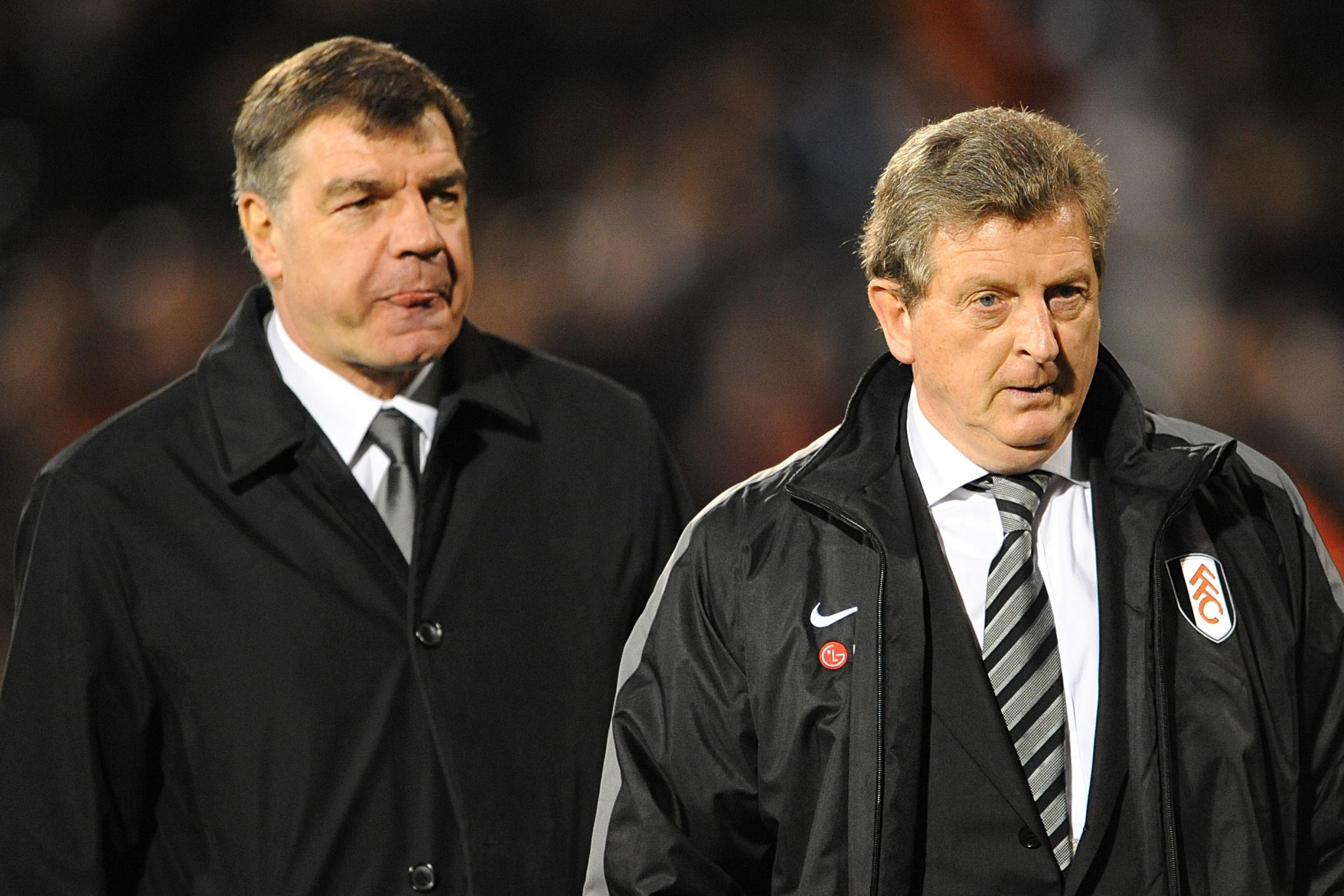 Roy Hodgson, right, has revealed he has not had an apology from Sam Allardyce who mocked the way he speaks (Joe Giddens/EMPICS)