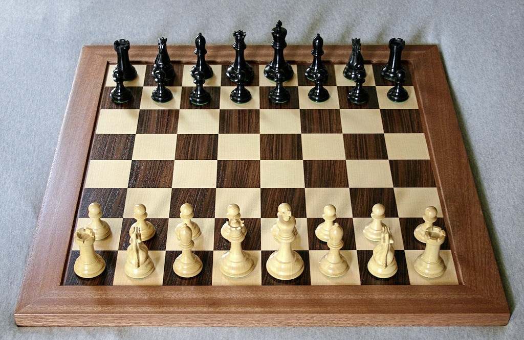 A chess board