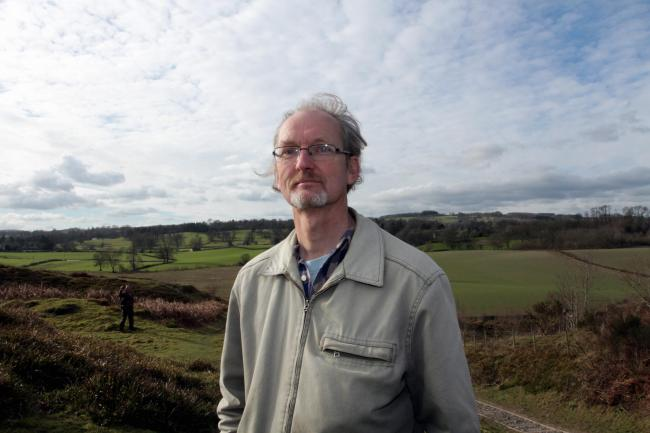 Duncan Kerr, the new Green Party Shropshire Councillor...HD140216.