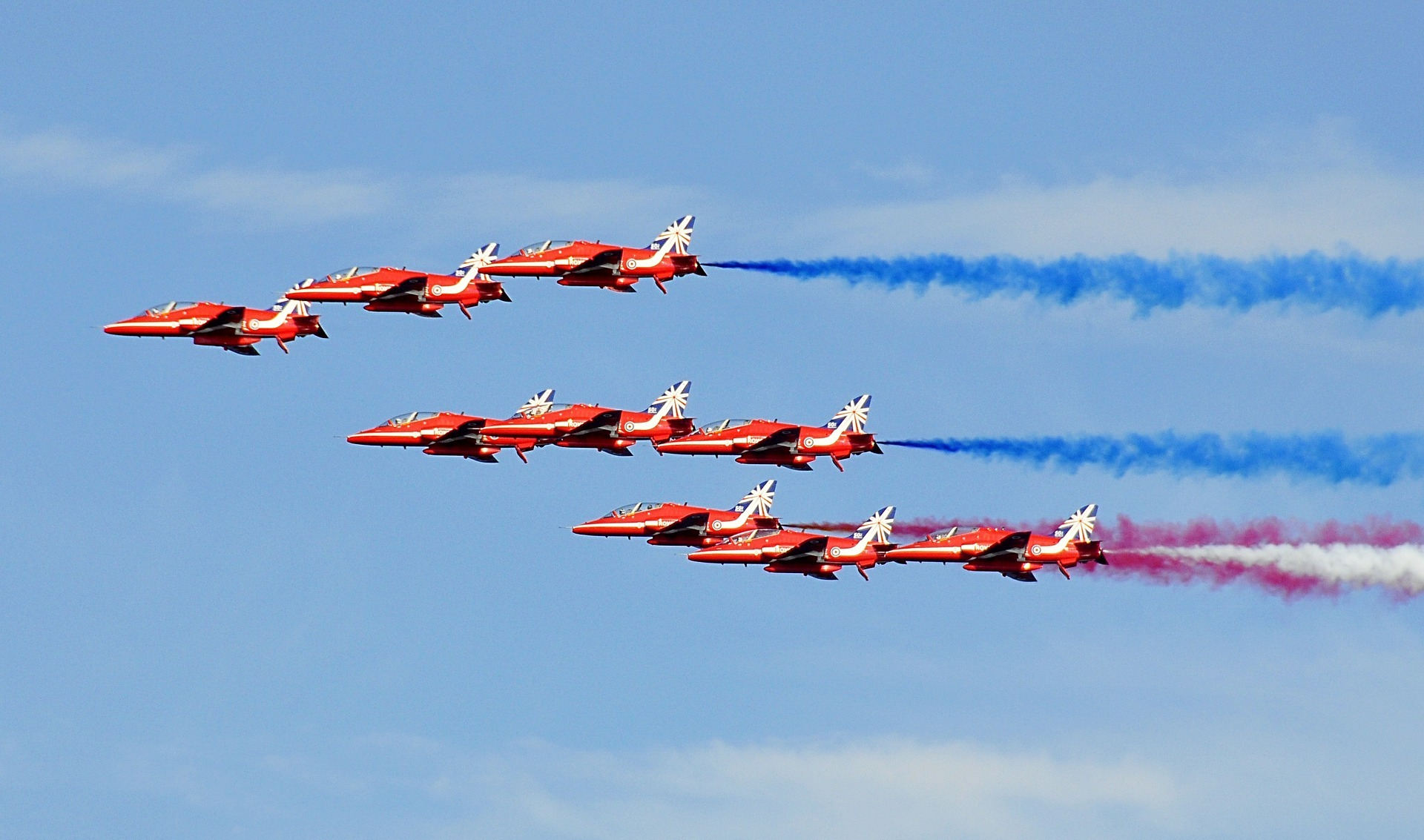 Red Arrows are expected to fly over the Fun Day