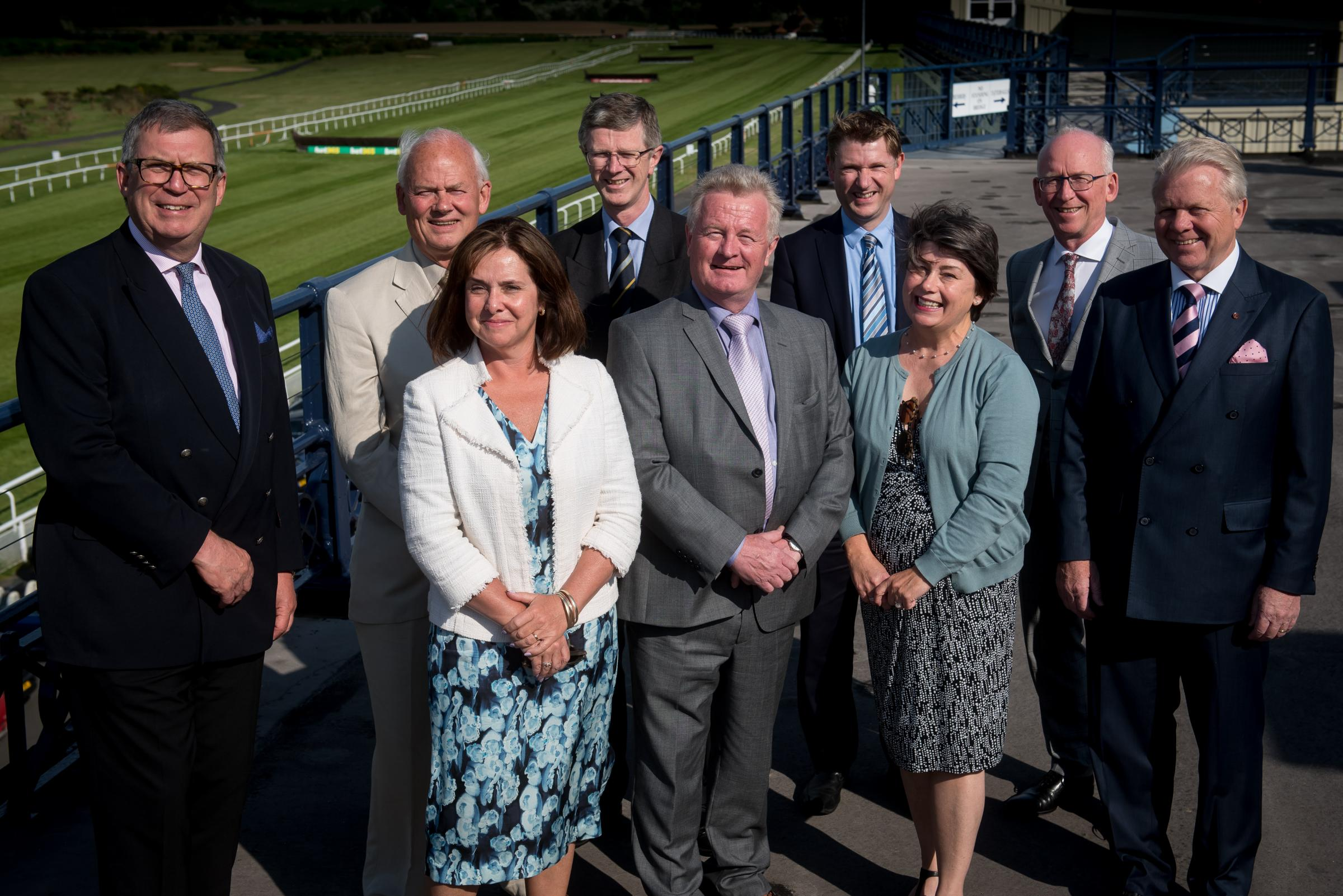Marches LEP board members will launch their annual report at the House of Commons. From left, Andrew Manning Cox, Frank Myers, Mandy Thorn, David Llewellyn, Paul Hinkins, James Staniforth, Sonia Roberts, Paul Kalinauckas and chairman Graham Wynn.