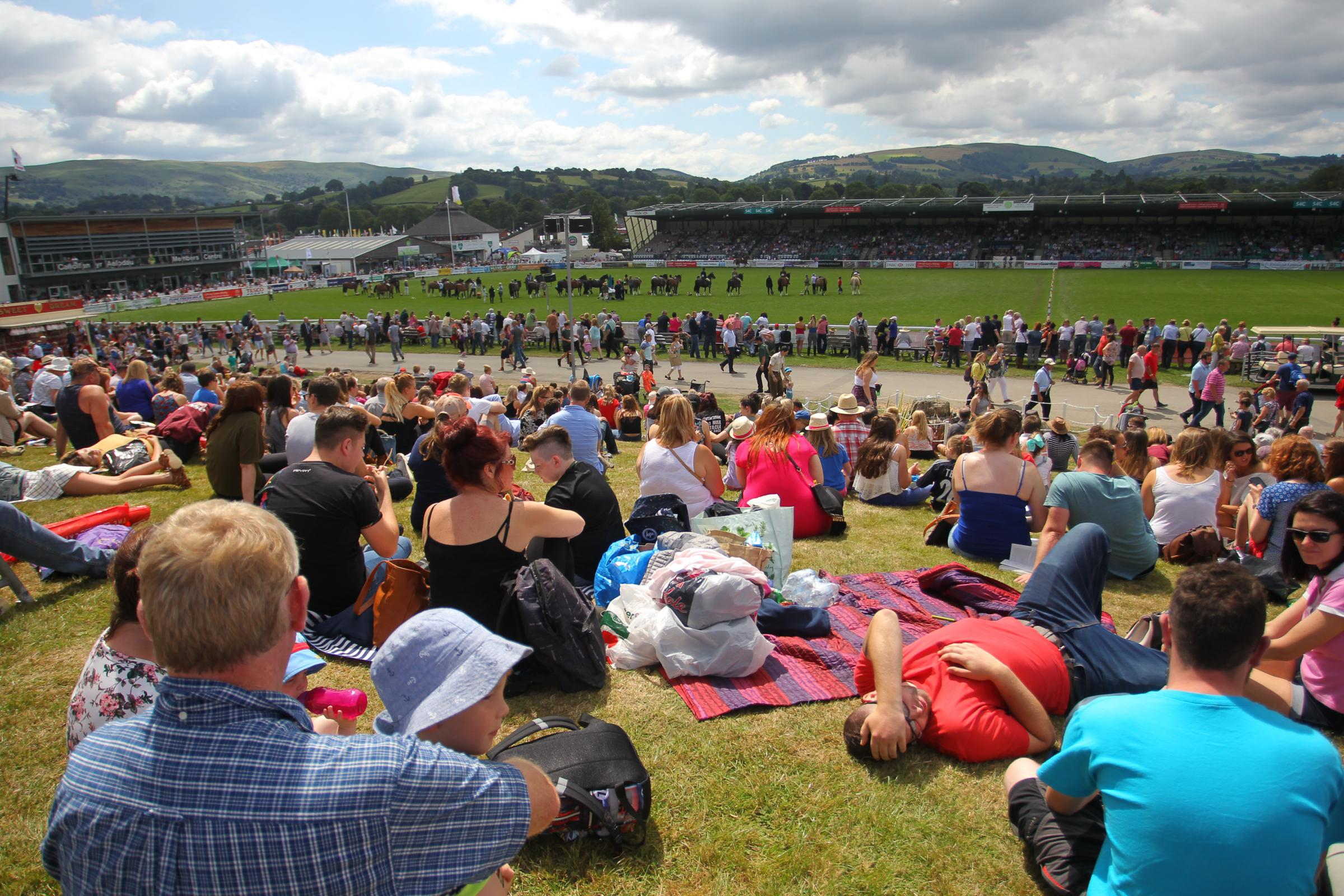 Wales' largest agricultural show begins on July 23.