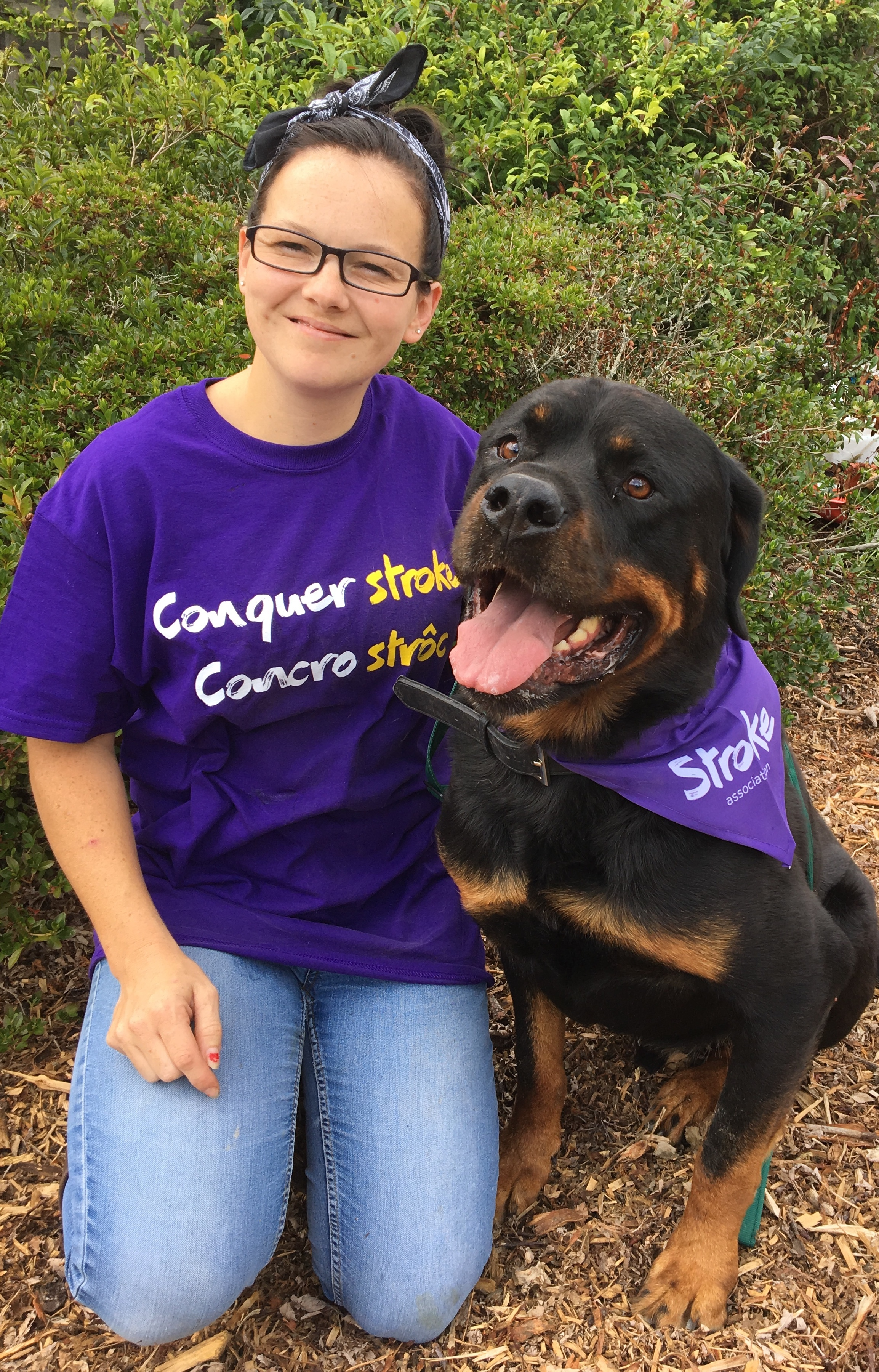 Nikki Cantrill is organising a dog show in aid of the Stroke Association