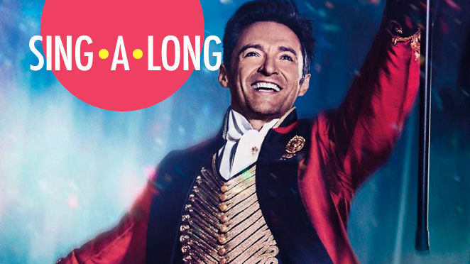 Shrewsbury has a singalong Greatest Showman