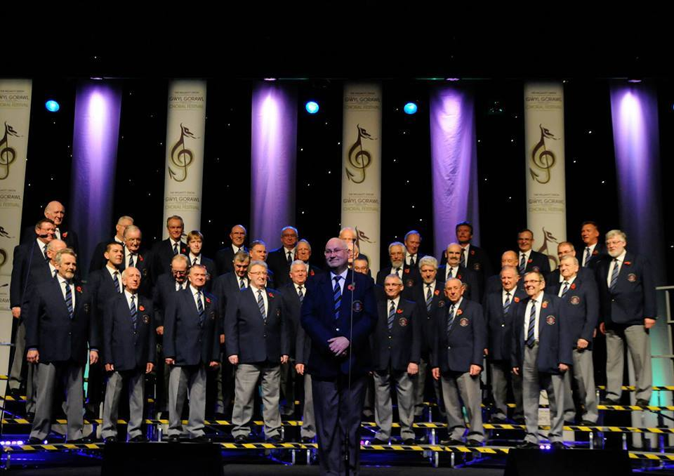 Flint Male Voice Choir will perform at the concert. Photo provided by Mold Town Council