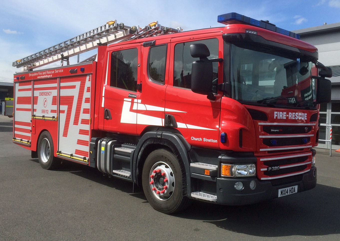 Pic - Shropshire Fire and Rescue Service