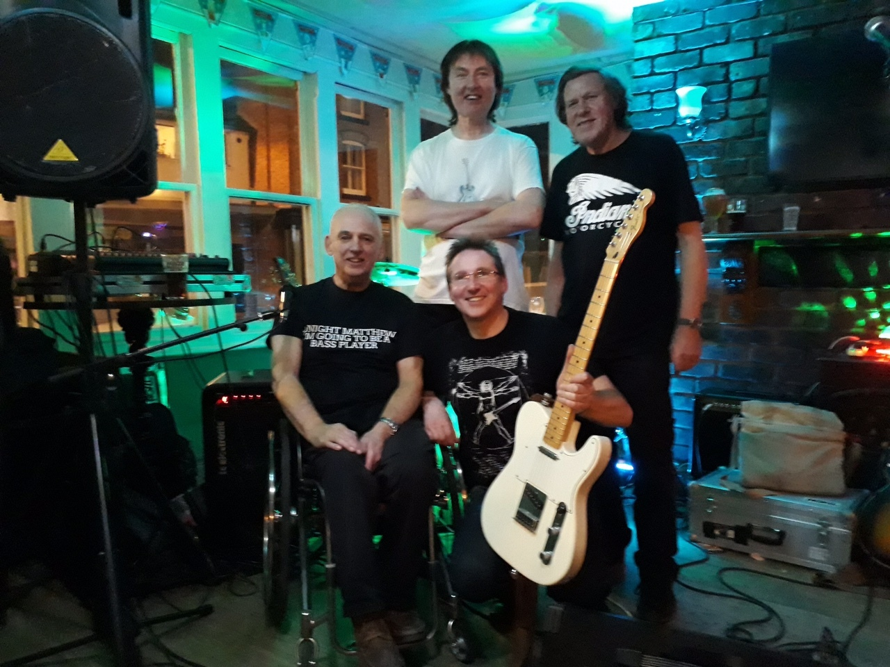 Monterey Jack and the Malcontents will be one of the acts at the variety concert on October 12 in The Memorial Hall, Oswestry.