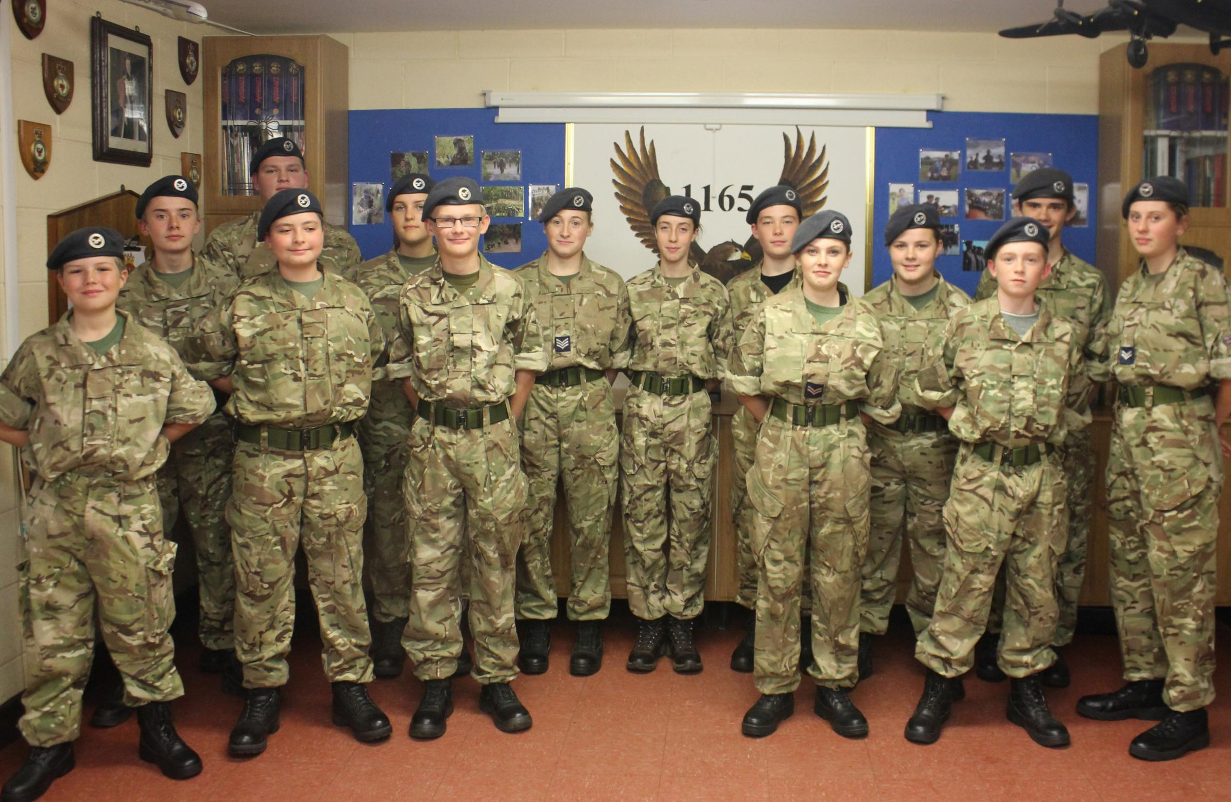 Cadets from 1165 Oswestry Air Training Corps will play a major role at the Old Oswestry hillfort First World War beacon lighting on the evening of November 11.