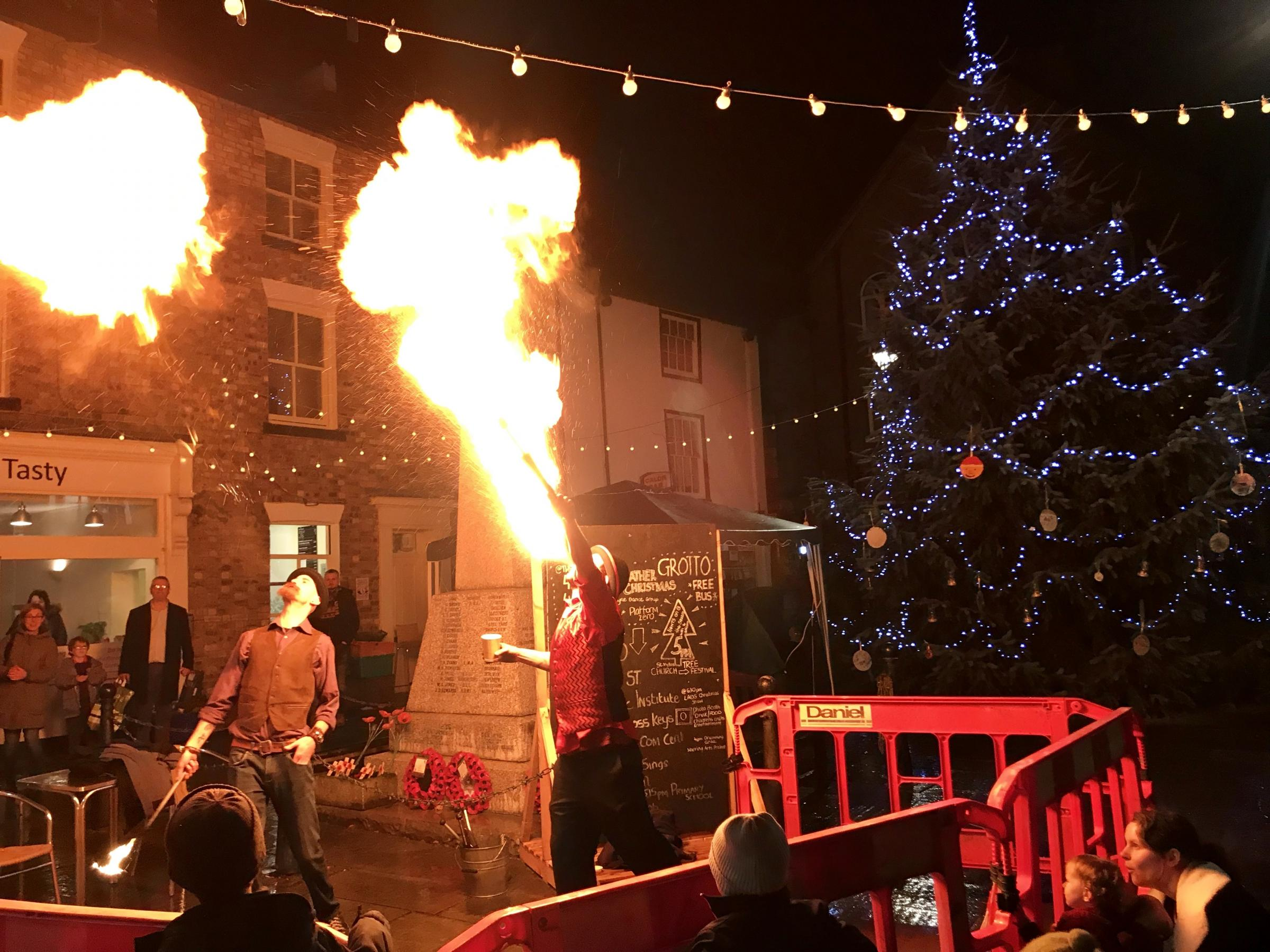 Llanfyllin Christmas Markets draws the crowds