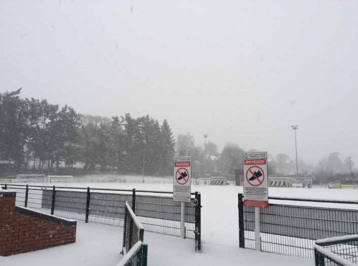 Saints' clash with Bala Town has been called off. Picture by Welsh Premier League