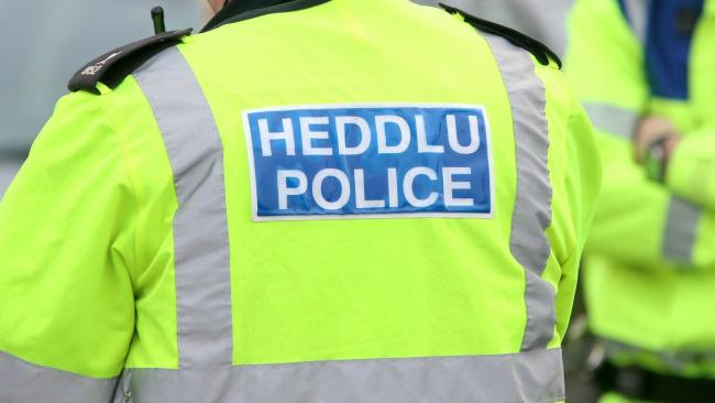 Library image of North Wales Police jacket