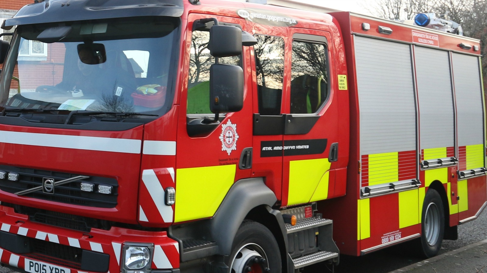 Library image of North Wales Fire engine