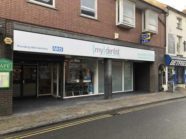 The MyDentist in Willow Street is set to close