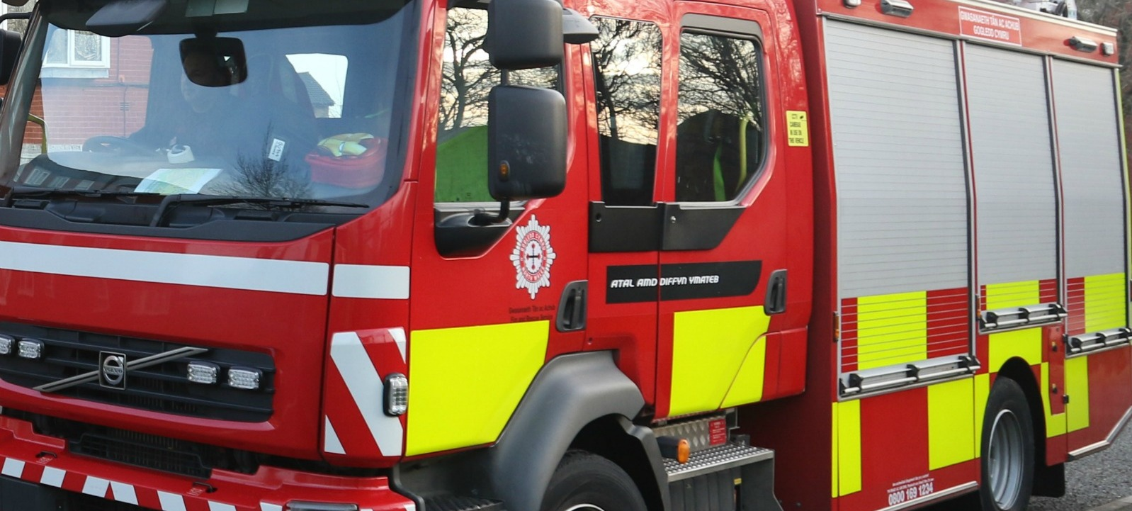 North Wales Fire Engine