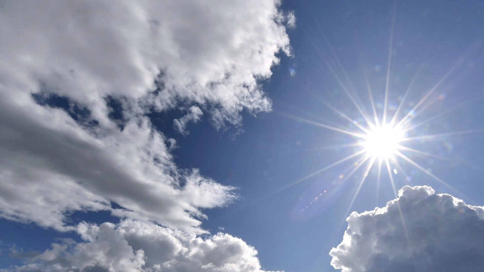 Library image of sunny skies