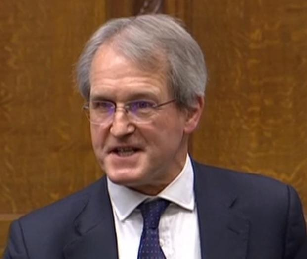 North Shropshire MP Owen Paterson (picture via BBC Parliament)