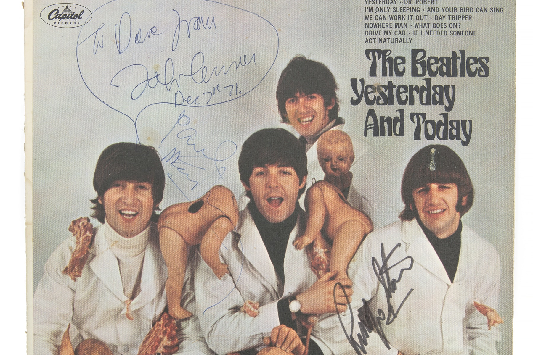 Beatles auction