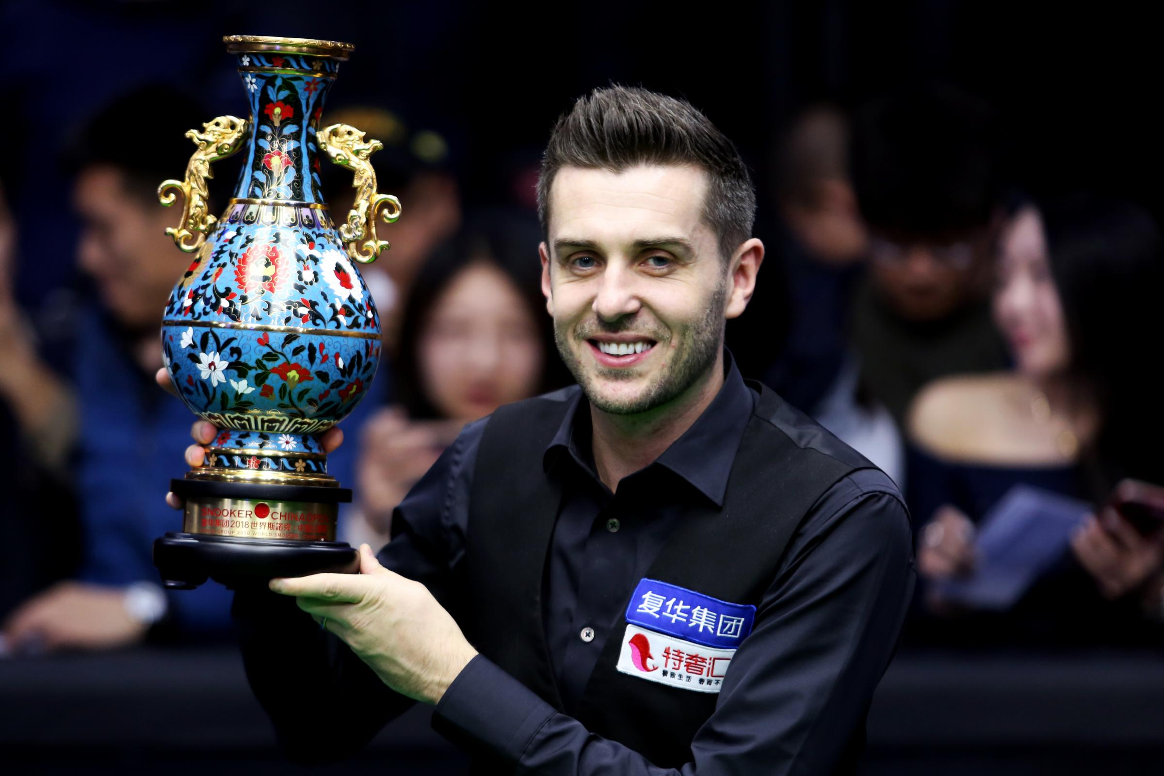Mark Selby. Picture by Ivan Hirschowitz, World Snooker